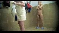 Hot chubby chicks captured naked on hidden cam