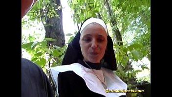 crazy german nun loves cock 13 min