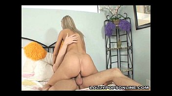 Ally Ann Gets Her Mouth and Pink Pussy Banged