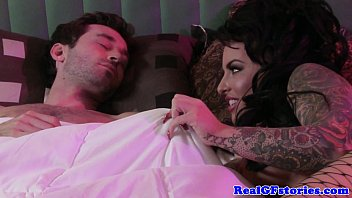 Exgf with tatts swallowing his cum 8 min