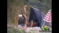 Mature pervert bitch at the beach 2