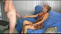 Naughty Mature Lady Gets A Cumblast