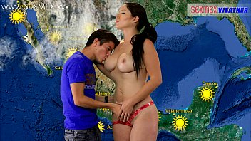 Slut Weather-girl gets fucked by TV assistant