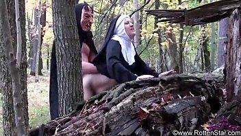 smoking nun fucked by devil 6 min