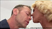 Director Rocco fucks his new blonde chick Dyana Hot in his couch 5 min