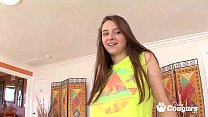 Elektra Rose Takes Step Daddies Dick For A Ride