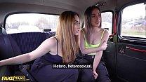 Fake Taxi Cheeky Spanish Lesbians Anastasia & Ginebra in Backseat Threesome