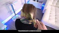 TeamSkeet - Curvy Teen With Tattoos Sucks Cock For A Free Room