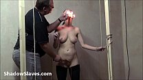 Gruesome facial bdsm of crying Emily Sharpe in bizarre hotwax punishment and ext