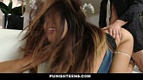 PunishTeens - Secretary Punished And Fucked For Stealing