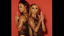 Brittany Renner and Teanna Trump