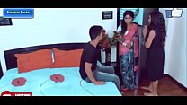 Mother Daughter and Wife Enjoy With One Plumber Boy Hot Scene 2019 In Hindi