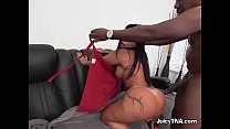 Luscious Skank Monica Santhiago Gets Ruined By Driver