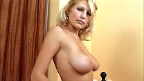 Shy Busty Blond Teen first time porn audition. Sexy stripping & masturbation. Pussy fingering, large tits!