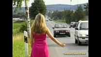 Picked up German Teen in doublepenetration