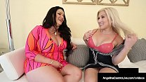 Thick Cuban Angelina Castro Strap On Dicks Curvy Cristi Ann!