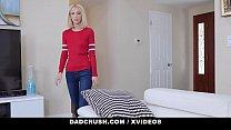 DadCrush - Skinny Blonde Stepdaughter Drains My Big Cock