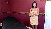 Young Hottie Gets Erotic Massage and Happy Ending