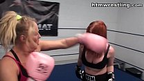 Boxing MILFs Woman vs Woman