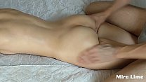 Step mother and step son fuck after a family massage