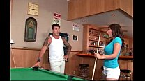 Alexis Breeze Plays Pool