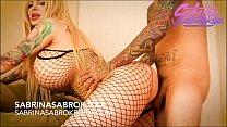 Sabrina Sabrok big tits blonde with huge booty  analled