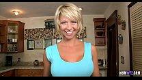 Cute Blonde Mom is Horny