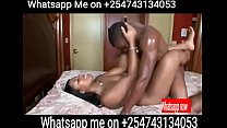 Kenya escort taking it Missionary style