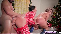 Big Ass Girl (Allie Haze & Harley Jade) Get Oiled Up And Hard Analy Nailed On Cam mov-05