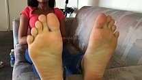 Brandy's Feet Video 1 Preview