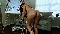 My husband caught me playing on cam