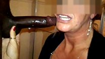 Deepthroat blowjob from expert mature cock hungry MILF