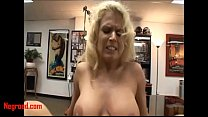 Negroed.com blond milf fucking white big cock cum in mouth and swallow