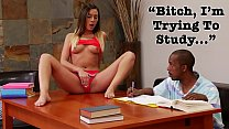 BANGBROS - Young Jaye Summers Craves Step Brother's Big Black Cock