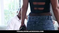 TLBC - Big Booty Escort (Candice Dare) Fucks Wife (Kim Gold) and Husband