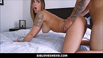 Hot Step Sister Layla London With Natural Big Tits Fucked By Stepbrother