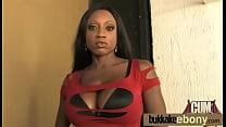 Ebony gangbanged interracial 8