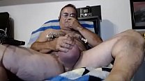 Wanking and Cum after Cock - and Ball Pumping