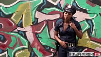 Homeless chick gets fucked by ebony cop - DigitalPlayground
