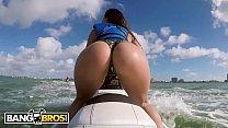 BANGBROS - Latina Pornstar Kelsi Monroe Shows Off Big Ass, Rides Jetski and Cock!