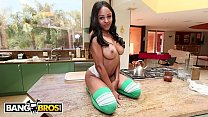 BANGBROS - Ebony Hottie, Anya Ivy, Gets Taken To Pound Town By Derrick Ferrari