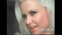 MMV Films German super star Dolly Golden gives a blowjob