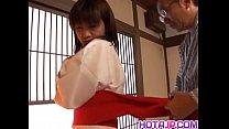 Ami Kitajima fucked and creamed on her pussy