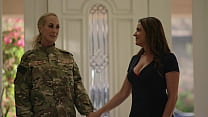 Lesbian Soldier MILF Gets Home - Elexis Monroe and Brandi Love