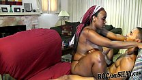 THIS BLACK GIRL KNOWS HOW TO FUCK HIM!!