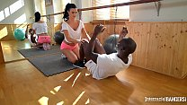 Interracial Hardcore Fuck At The Gym With Busty Milf Jasmine Jae