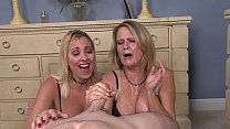 Two Milfs Share a Cock