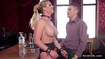 Huge tits Milf trains teen in threesome