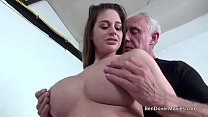 Cathy Heaven fucking with Grandad Ben Dover
