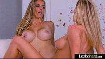 Hot Teen Lesbian Girls (Jessa Rhodes & Ryan Ryans) Show On Camera Their Love clip-18